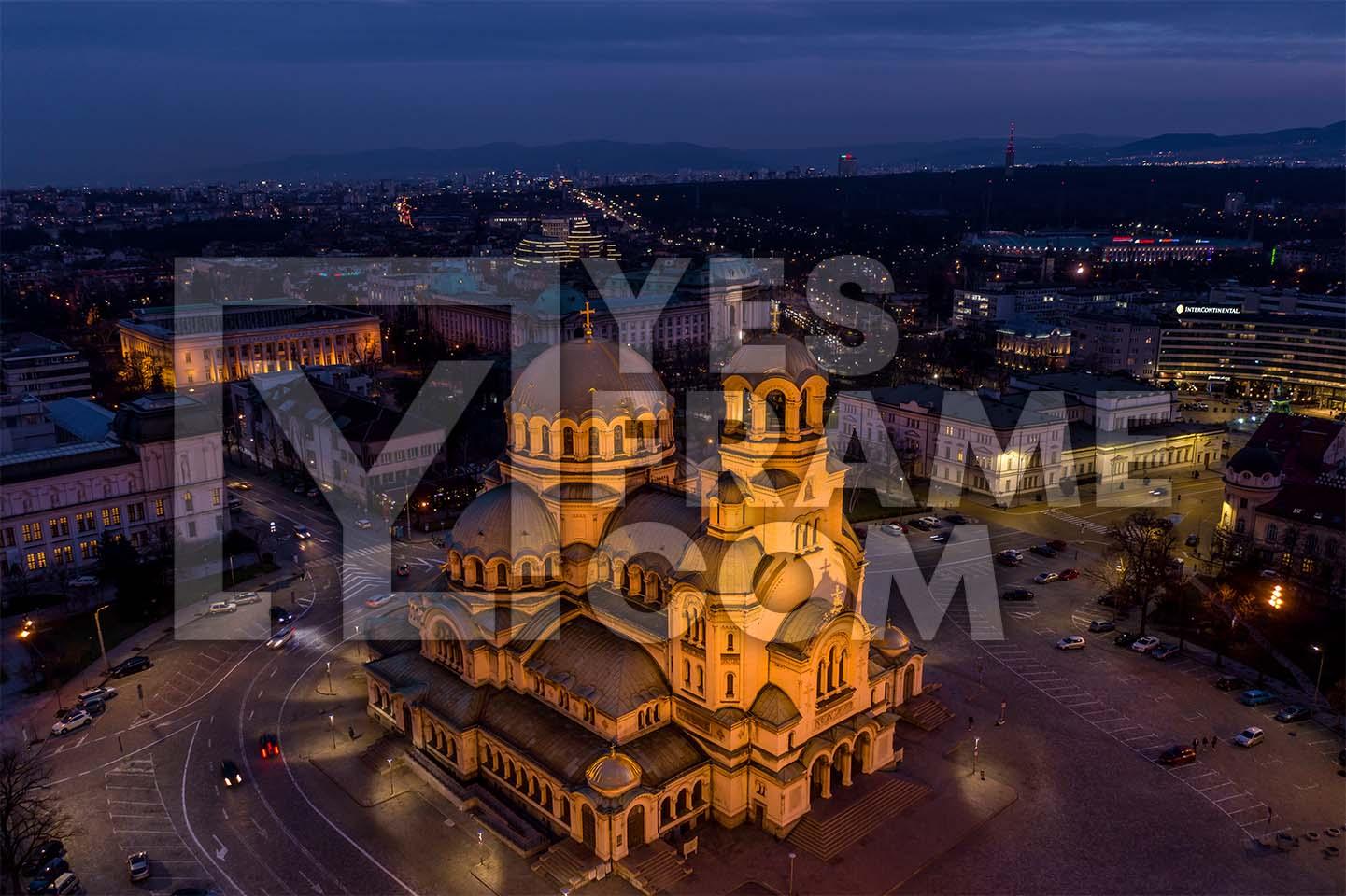 Alexander Nevsky Cathedral Sofia Thumbnail PHAK005