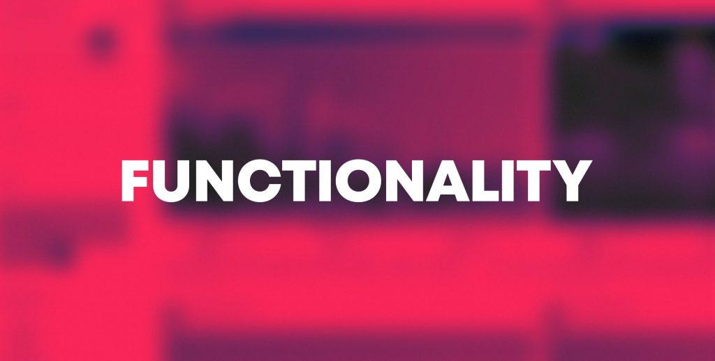 yesframe information blog functionality en