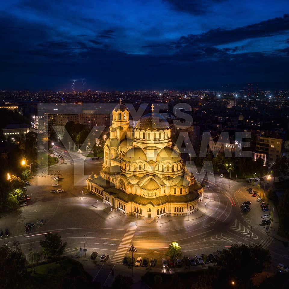 Alexander Nevsky Cathedral Sofia Thumbnail PHRS010