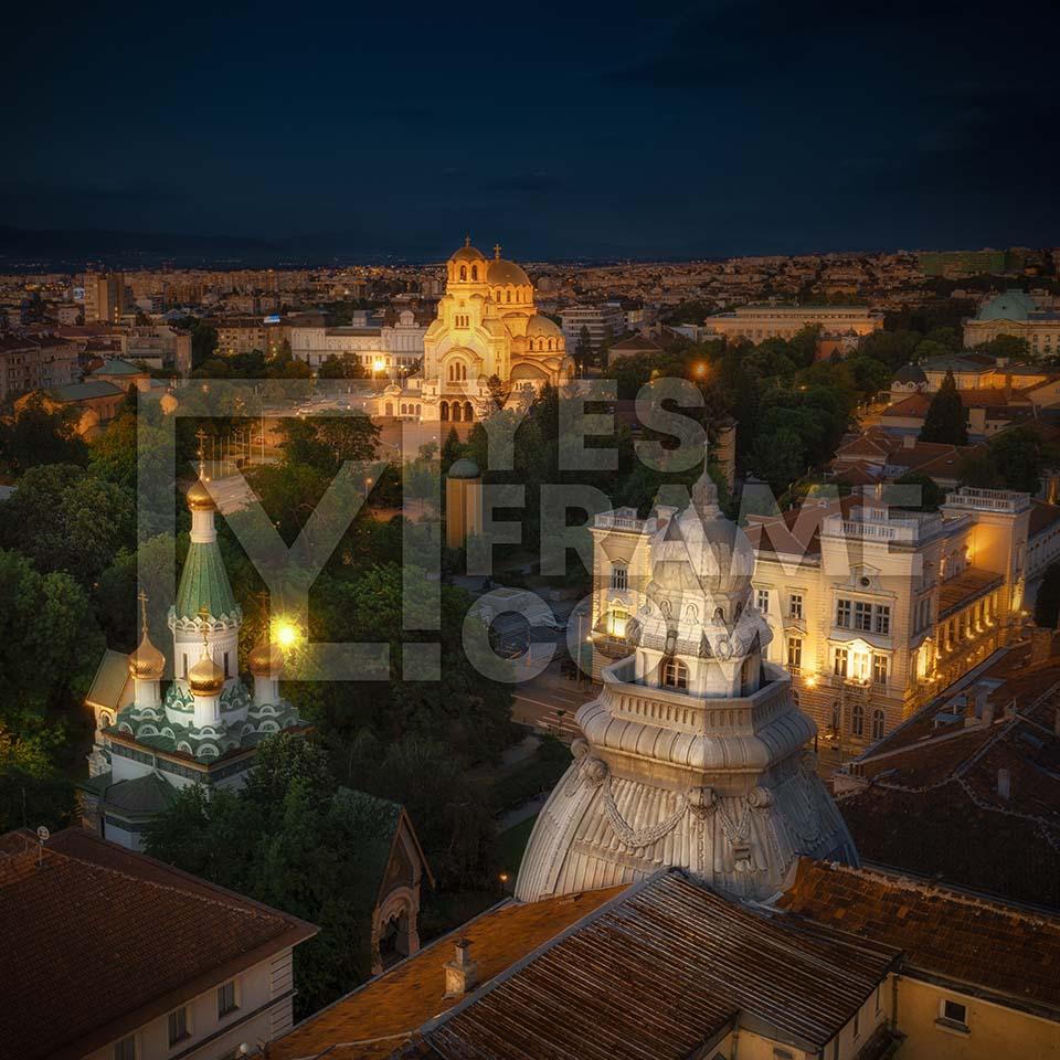 Alexander Nevsky Cathedral Sofia Thumbnail PHRS012