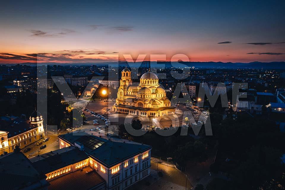Alexander Nevsky Cathedral Sofia Thumbnail PHAC003