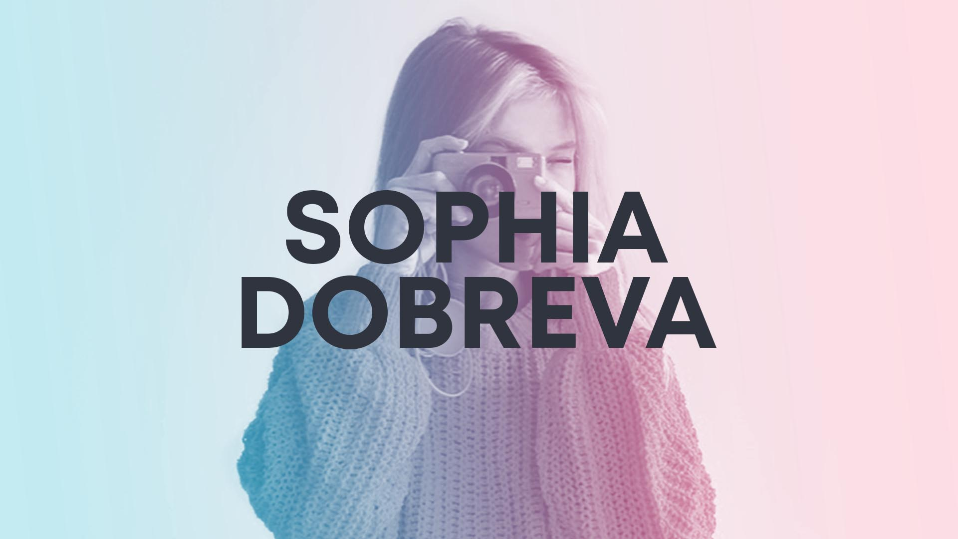 SOPHIA DOBREVA Yesframe Author Service Image